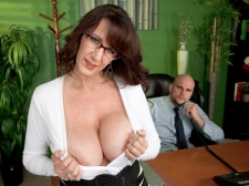 Fucking the biggest breasted Mother I'D LIKE TO FUCK who's wearing glasses